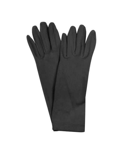 FORZIERI | Black Ladies' Solid Stretch Gloves | Lyst