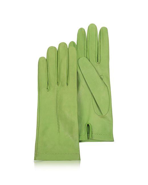 FORZIERI   Green Women's Mint Unlined Italian Leather Gloves   Lyst
