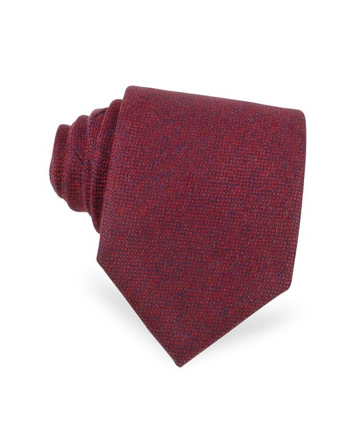 FORZIERI | Red Cashmere Extra-long Tie for Men | Lyst