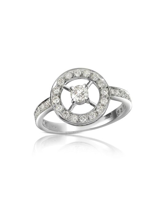 FORZIERI | White 0.52 Ctw Diamond 18k Gold Ring | Lyst