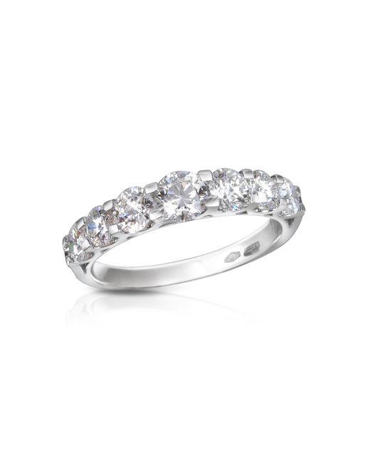 FORZIERI   Metallic 0.57ct Diamond Flower 18k Gold Ring   Lyst