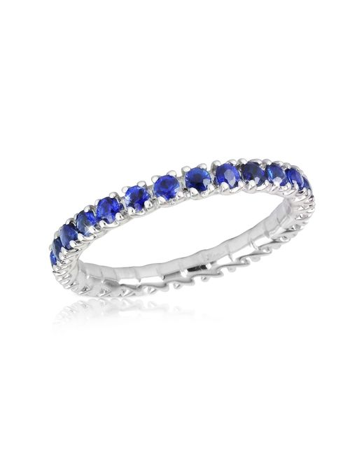 FORZIERI | Blue Sapphires 18k Gold Eternity Band | Lyst