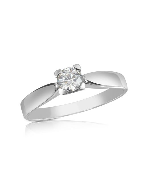 FORZIERI | White 0.23 Ctw Diamond Solitaire Ring | Lyst