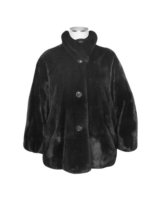 FORZIERI | Ultimate Luxury Collection Black Mink Fur Jacket | Lyst