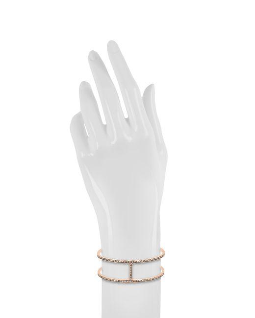 Michael Kors | Metallic Brilliance Pave H Cuff Bracelet | Lyst