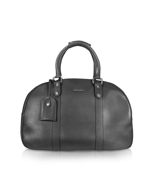 Moreschi | Black New Boston Leather Travel Bag | Lyst