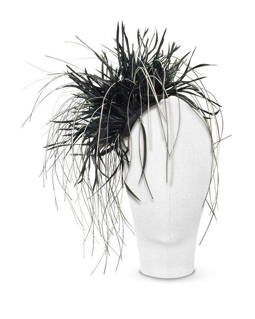 Nana' | Alicia - Black Feather Headdress | Lyst