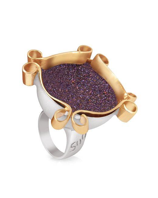 Naoto | Omaggio A Palladio Purple Ring | Lyst