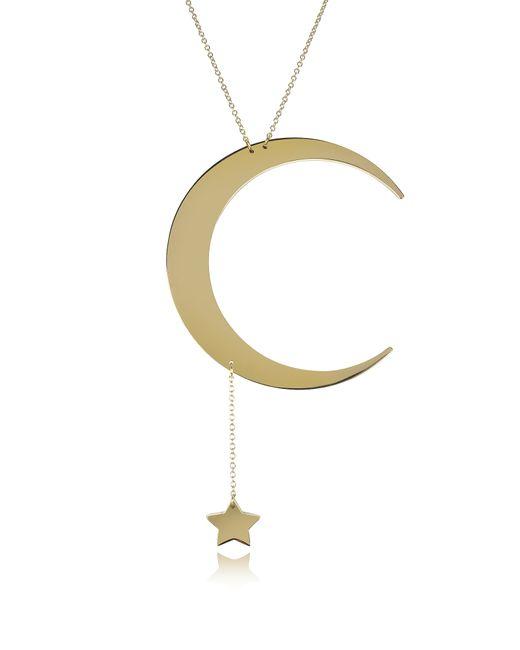Roberto Cavalli - Metallic Women's Gold Metal Necklace - Lyst