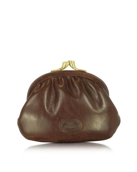 The Bridge | Brown Leather Coin Purse | Lyst