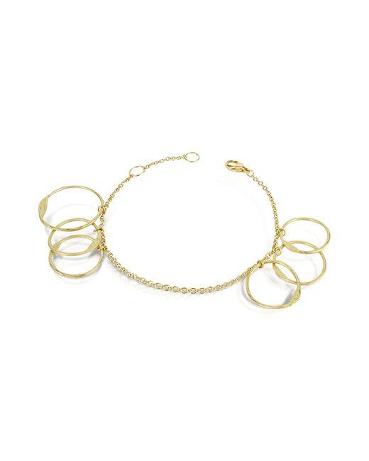 Torrini | Metallic Milly - 18k Yellow Gold Circles Chain Bracelet | Lyst