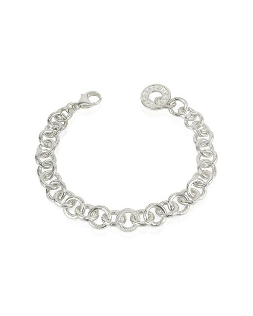 Torrini | Metallic Coin 1369 - Sterling Silver Rolo Chain Charm Bracelet | Lyst