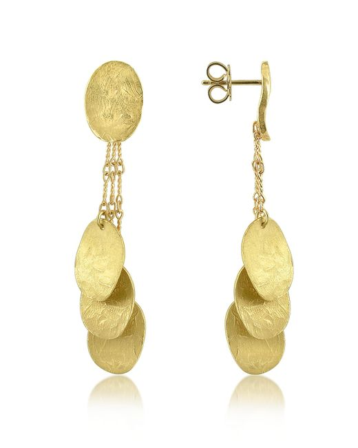 Torrini - Metallic Nuvole Moving - 18k Gold Drop Earrings - Lyst