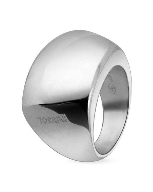 Torrini | Metallic Trapezoidal Sterling Silver Ring | Lyst