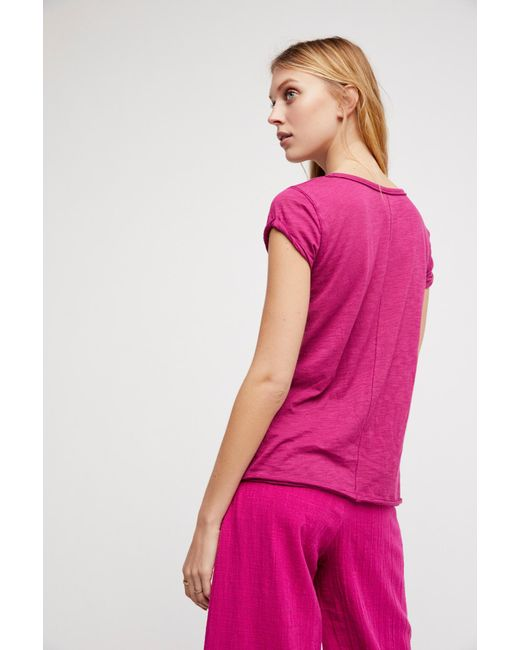 Free People - Multicolor We The Free Clare Tee - Lyst