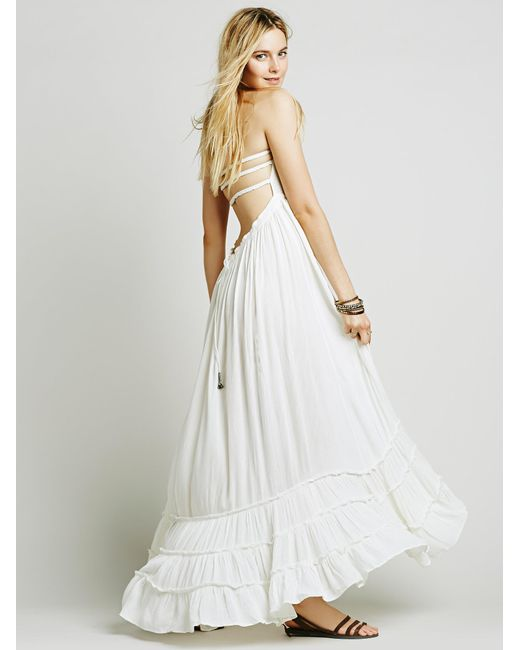 Free People - White Extratropical Dress - Lyst