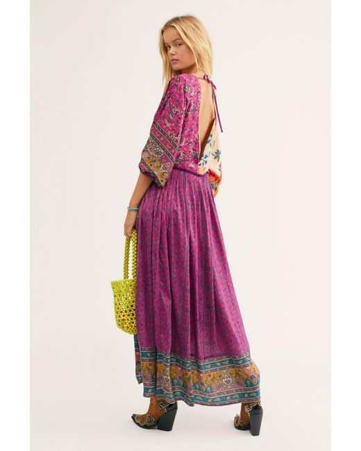 ffc14e325027 ... Free People - Multicolor What You Want Maxi Dress - Lyst ...