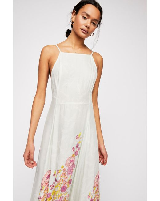 Free People - Green Embrace It Maxi Dress By Intimately - Lyst
