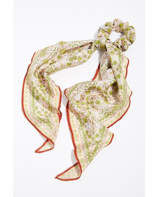 Free People - Multicolor On The Road Scarf Pony - Lyst