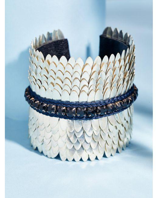 Free People | Metallic Gigi Brass Empress Cuff | Lyst
