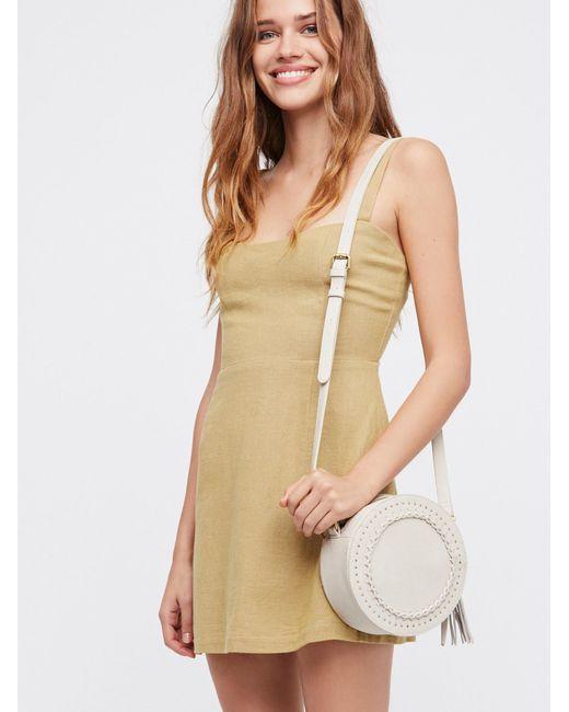 Free People | Multicolor Short N' Sweet Solid Mini Dress | Lyst