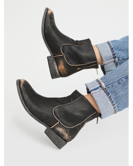 Free People - Black Canyon Lands Ankle Boot - Lyst