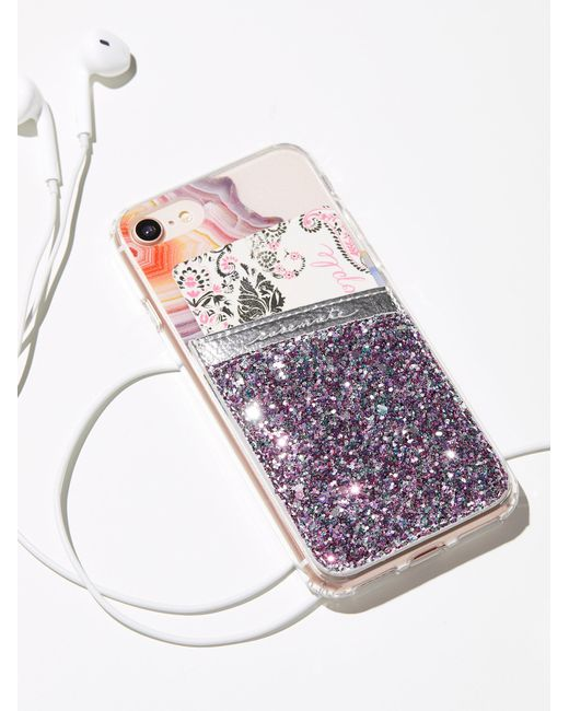 Free People | Multicolor Leather Iphone Pocket | Lyst