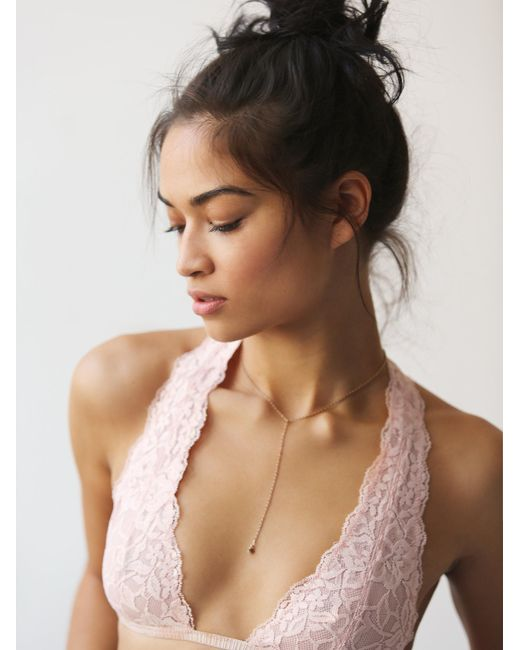 Free People | Pink Truly Madly Deeply Halter | Lyst