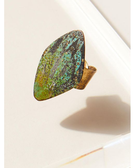 Free People | Multicolor Rhombus Patina Ring | Lyst