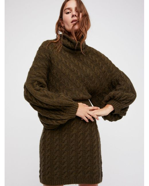 Free People | Multicolor Meant To Be Sweater Dress | Lyst