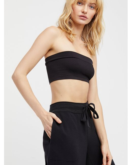 Free People | Black Not So Basic Bandeau | Lyst
