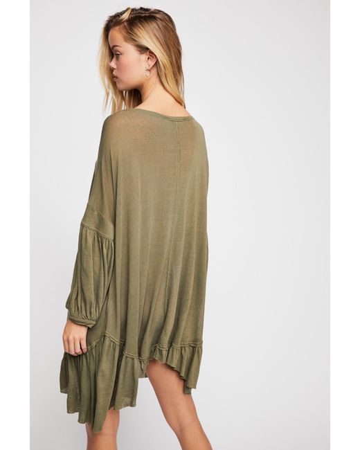 6e14a85ddb0 ... Free People - Green Riverside Tunic By Fp Beach - Lyst ...