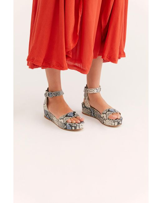 05de93736f2f Free People - Multicolor Paris Flatform Sandal By Fp Collection - Lyst ...