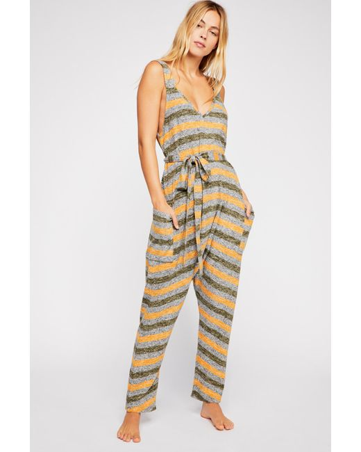 4f8b9ea6ed7 Free People - Multicolor Back In The Game Jumper - Lyst ...