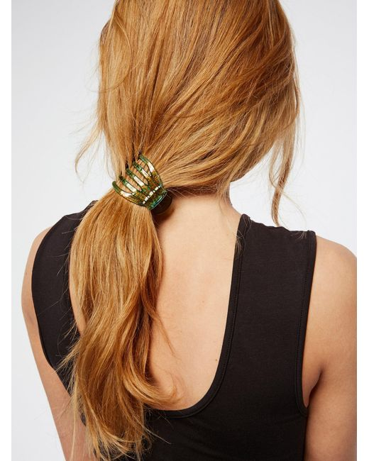 Free People | Green Small Yoga Claw | Lyst