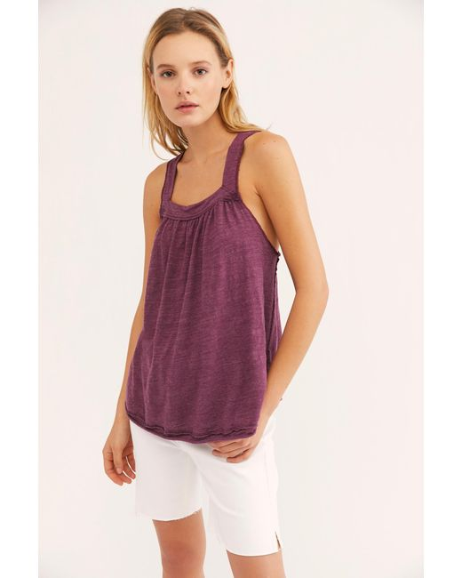 Free People - Red We The Free Good For You Tank - Lyst ... 28d578d6e