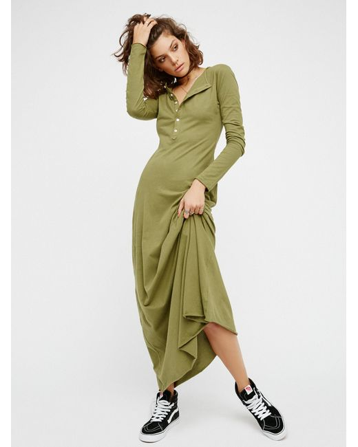 Free People | Green El Topo Dress | Lyst