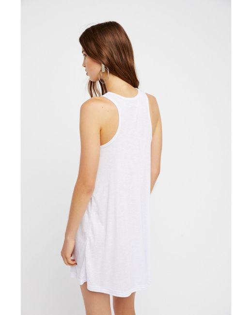 dd0f3ca465 ... Free People - White La Nite Mini Dress By Fp Beach - Lyst ...