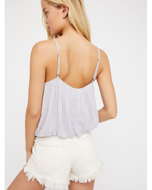 Free People | White We The Free Free Fallin Tee | Lyst