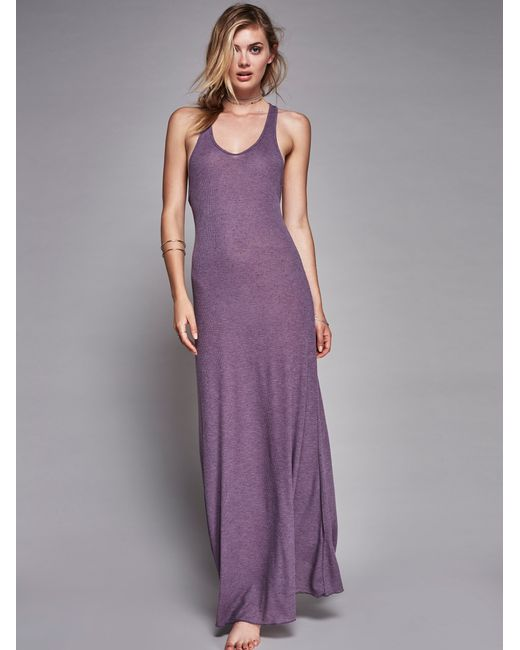 Free People | Pink Girlfriend Maxi | Lyst