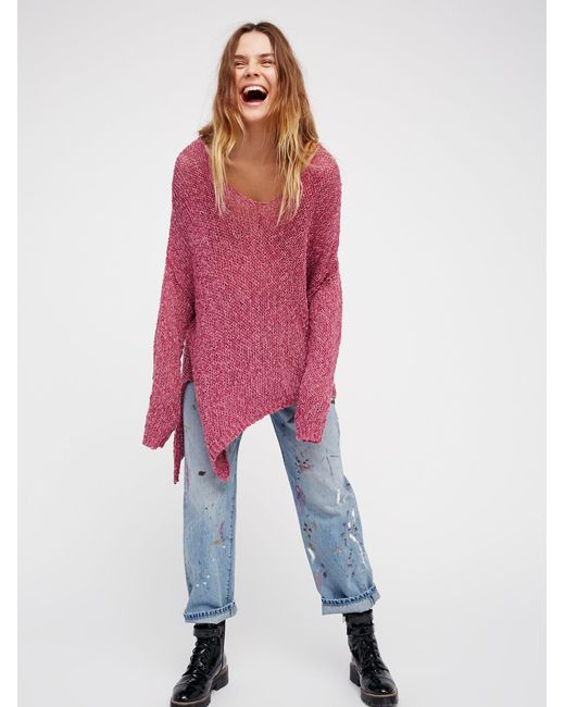 Free People | Multicolor Vertigo Pullover | Lyst