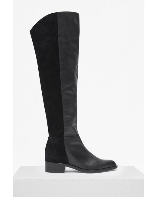 French Connection Tilly Knee High Flat Heel Leather Boots Cheap Best Prices Outlet Latest Collections Outlet Cheapest Price Cheap For Nice Explore 04FeuKZf
