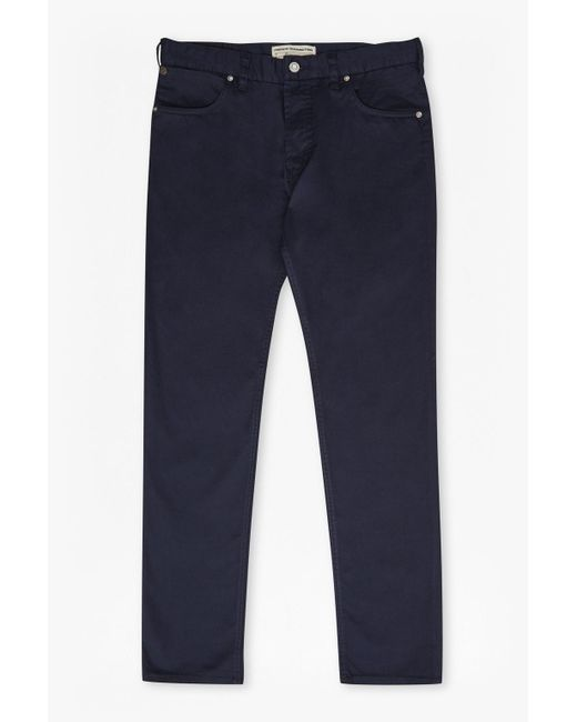 French Connection - Blue 5 Pocket Trousers for Men - Lyst