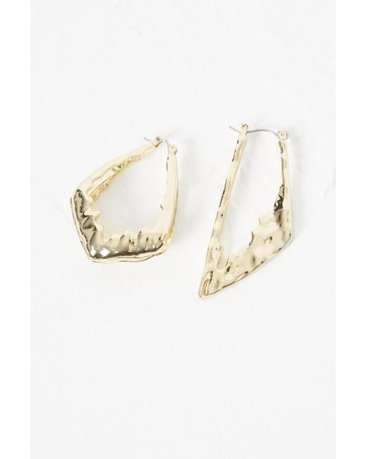 French Connection - Metallic Squiggle Earrings - Lyst