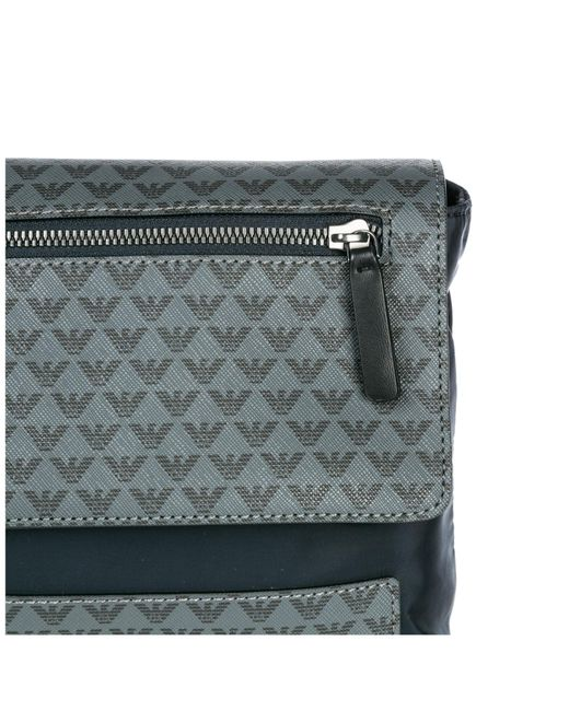 c06b8bde2fac ... Emporio Armani - Black Cross-body Messenger Shoulder Bag for Men - Lyst  ...