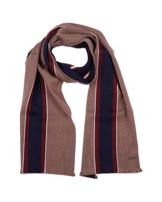 Bally - Multicolor Wool Scarf Multitabacco Printed for Men - Lyst