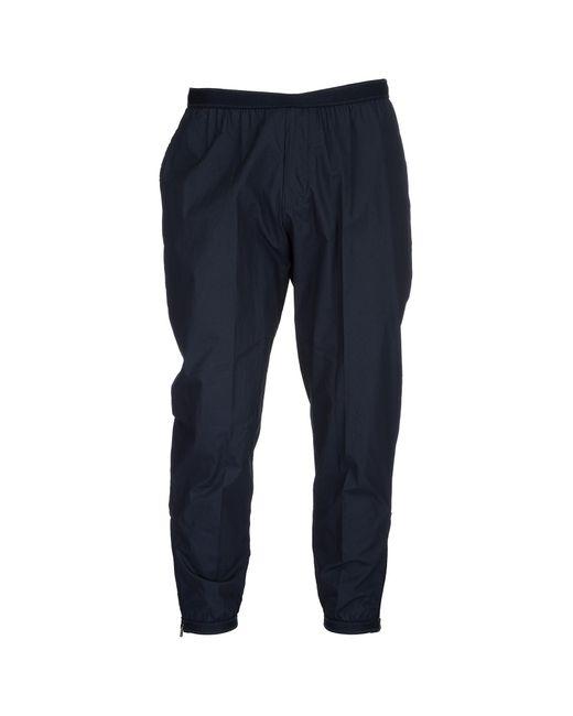 Emporio Armani - Blue Trousers Pants for Men - Lyst