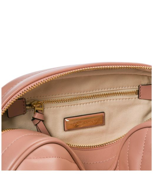 4373c31f7389 ... Tory Burch - Pink Leather Shoulder Bag - Lyst