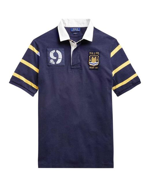 cf22514c981236 ... Polo Ralph Lauren - Blue Polo patch 9 Rugby Classic fit for Men - Lyst
