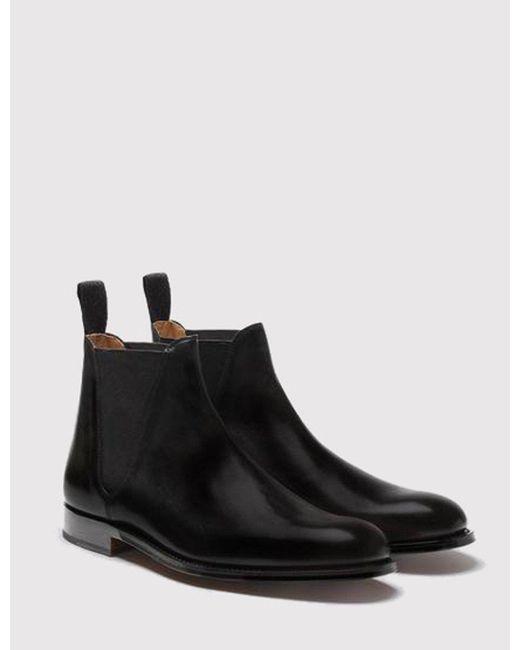GRENSON Black Nolan Chelsea Boot for men